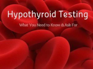 Dr. Hagmeyer - Hypothyroid testing