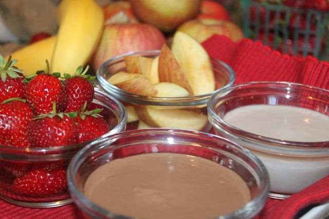 decadent fruit dip