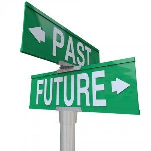 past and future street signs