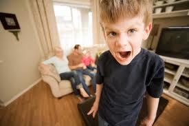little boy screming