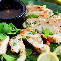 grilled chicken with lemongrass