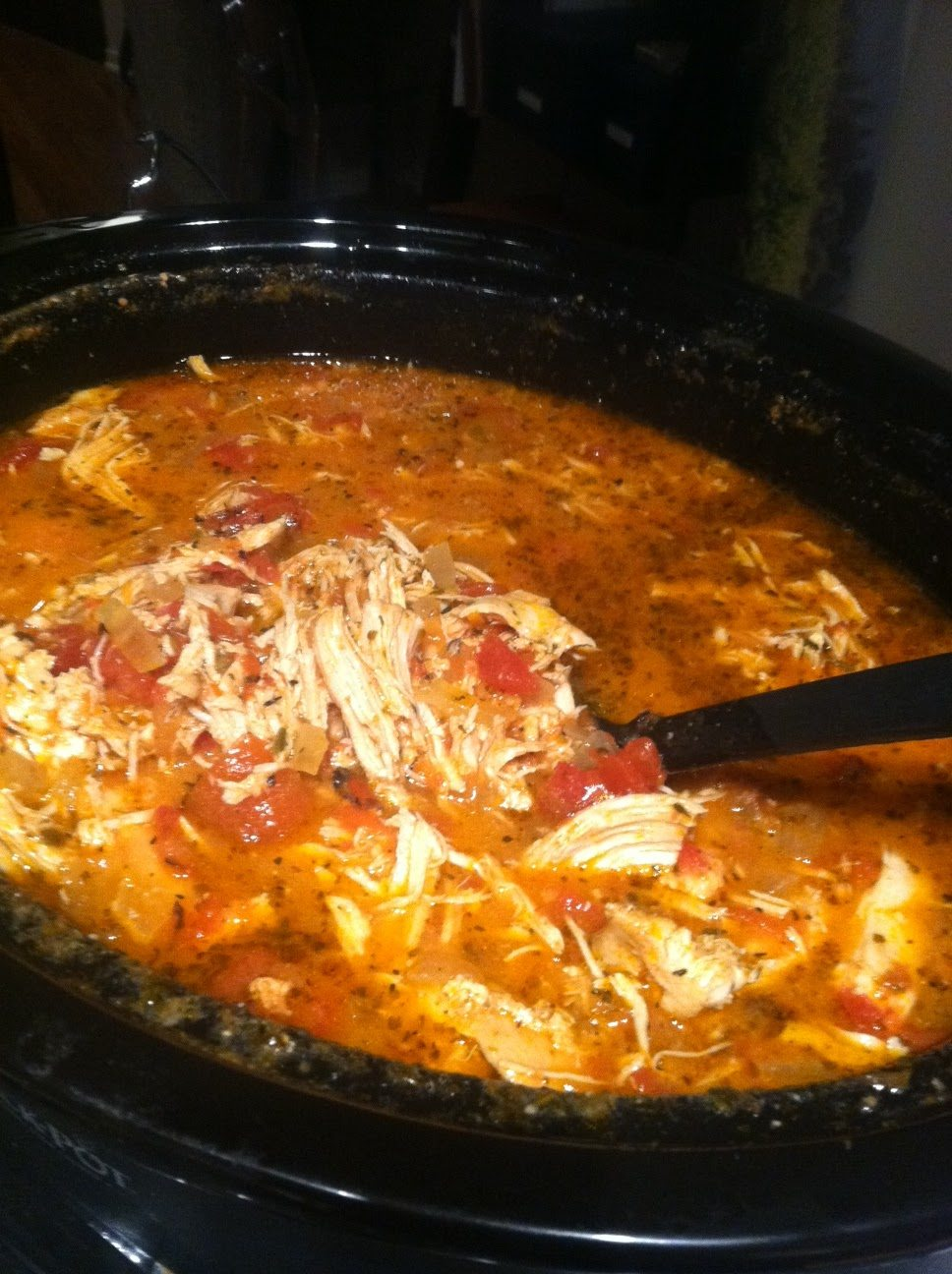 Creamy Crockpot Chicken and Tomato Soup