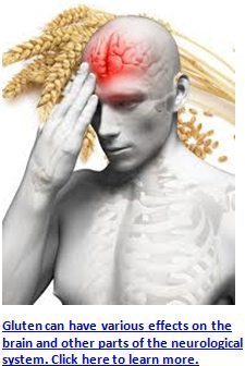 gluten effects on the brain