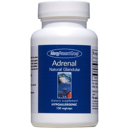 Adrenal natural glandular supplement