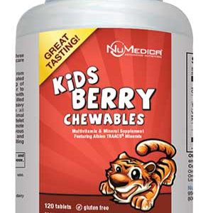 Kids Berry Chewables - 120t 1