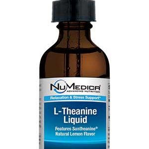 L-Theanine Liquid (Natural Lemon) - 2 fl oz