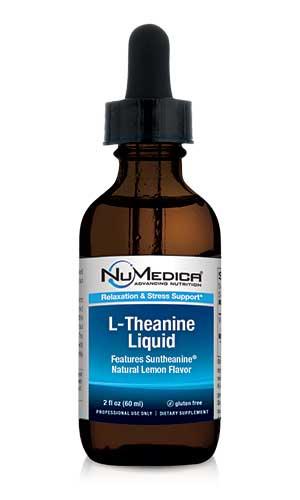 L-Theanine Liquid (Natural Lemon) - 2 fl oz