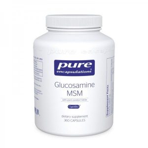Glucosamine/MSM with joint comfort herbs