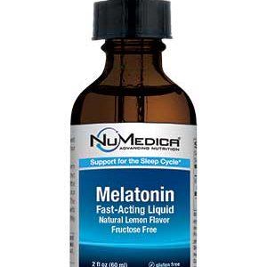 Melatonin Liquid (Natural Lemon) - 2 fl oz
