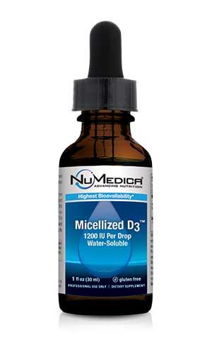 Micellized D3 1200 *Higher Potency* - 1 fl oz 1