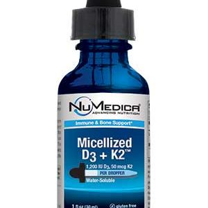 Micellized D3 + K2 - 1 fl oz
