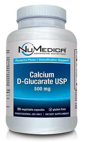 Calcium D-Glucarate USP 90 capsules