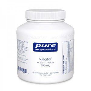 Niacitol® (no-flush niacin) 650 mg 180's
