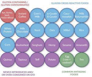 Gluten Cross Reactive Foods